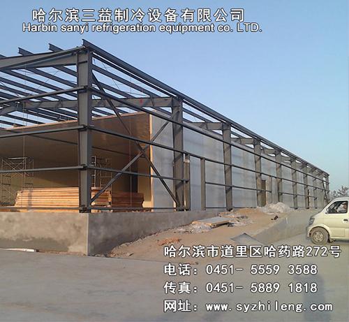 钢结构保温板拼装图
