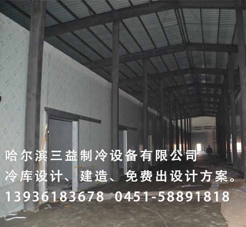 牡丹江林口林业局冷库9200m³