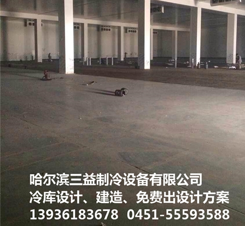上海DHL物流园冷库项目