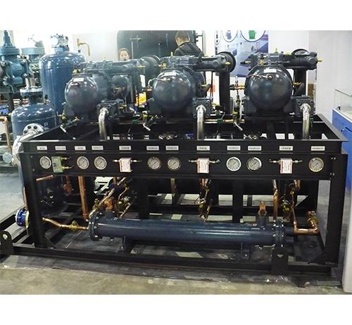 低温螺杆压缩机并联制冷机组